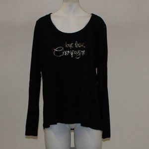 But First Champagne Soma Long Sleeve Top